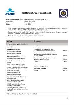 Čsob katalog ( Před více než měsícem )