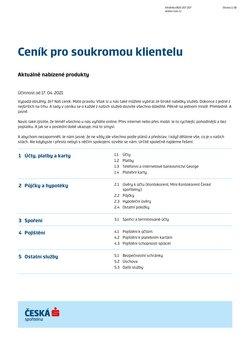 Česká Spořitelna akce v Česká Spořitelna katalogu ( Zbývá 25 dní)