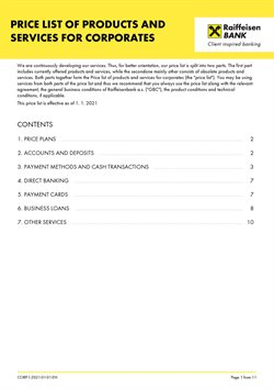 Raiffeisenbank katalog ( Před více než měsícem )