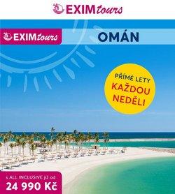 Exim Tours akce v Exim Tours katalogu ( Před více než měsícem)