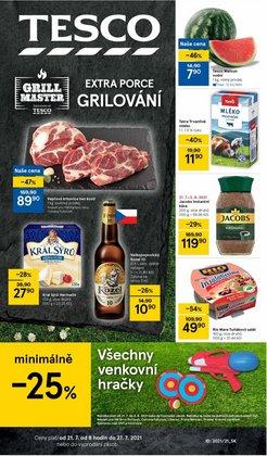 Hyper-Supermarkety akce v Tesco katalogu ( Platnost vyprší dnes)