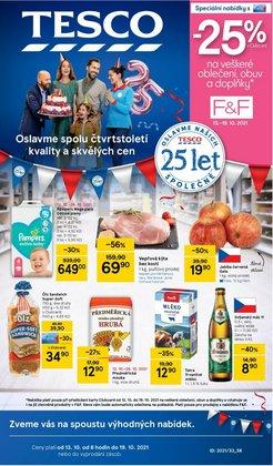 Hyper-Supermarkety akce v Tesco katalogu ( Zbývá 2 dní)