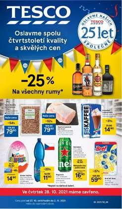 Hyper-Supermarkety akce v Tesco katalogu ( Zbývá 5 dní)