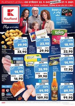 Hyper-Supermarkety akce v Kaufland katalogu ( Zbývá 5 dní)