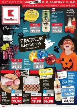 Hyper-Supermarkety akce v Kaufland katalogu ( Zbývá 17 dní)