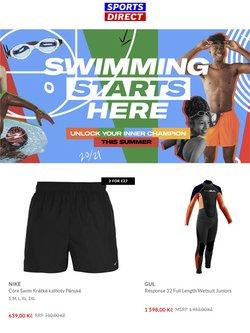 Sport akce v Sports Direct katalogu ( Zveřejněno včera)