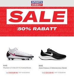 Sport akce v Sports Direct katalogu ( Zveřejněno dnes)