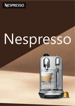 Nespresso katalog ( Vypršelo )