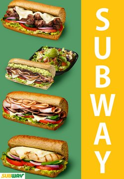 Subway katalog ( Zbývá 8 dní )