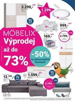 Bydlení a Nábytek akce v Möbelix katalogu ( Zbývá 10 dní)