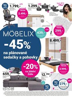 Bydlení a Nábytek akce v Möbelix katalogu ( Zbývá 3 dní)