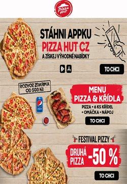 Restaurace akce v Pizza Hut katalogu v Praha ( Před 3 dny )
