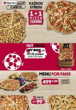 Restaurace akce v Pizza Hut katalogu ( Zbývá 6 dní)