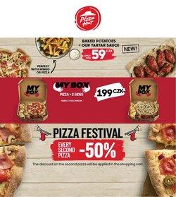 Restaurace akce v Pizza Hut katalogu ( Zbývá 7 dní)