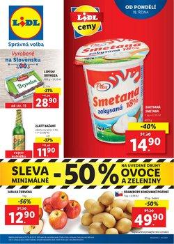 Hyper-Supermarkety akce v Lidl katalogu ( Zbývá 4 dní)
