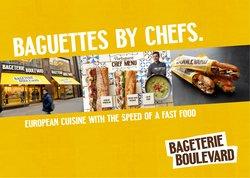 Restaurace akce v Bageterie Boulevard katalogu ( Zveřejněno dnes)
