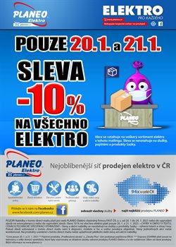 Planeo Elektro katalog ( Zbývá 3 dní )