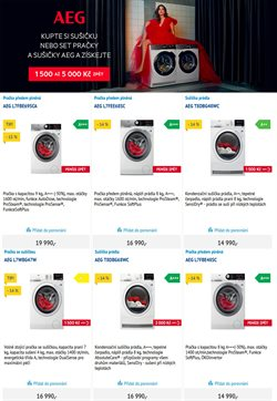 Pračka nabídky v Praze