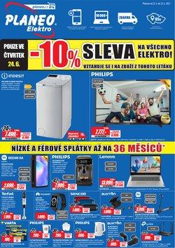 Elektronika a Bílé Zboží akce v Planeo Elektro katalogu ( Vyprší zítra)