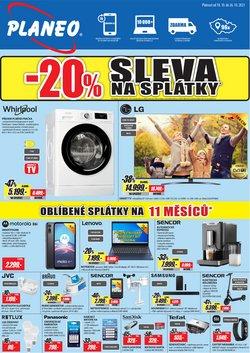 Elektronika a Bílé Zboží akce v Planeo Elektro katalogu ( Zbývá 6 dní)