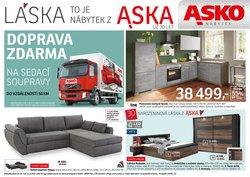 Bydlení a Nábytek akce v Asko katalogu ( Zveřejněno včera)
