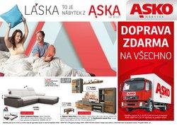 Bydlení a Nábytek akce v Asko katalogu ( Zveřejněno dnes)