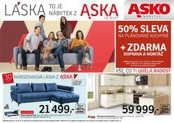 Bydlení a Nábytek akce v Asko katalogu ( Zbývá 7 dní)