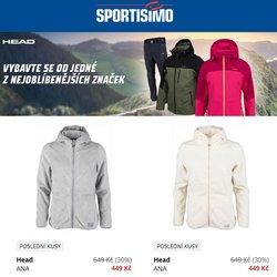 Sport akce v Sportisimo katalogu ( Zveřejněno dnes)