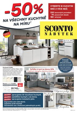 Bydlení a Nábytek akce v Sconto katalogu ( Zbývá 16 dní)