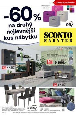 Bydlení a Nábytek akce v Sconto katalogu ( Platnost vyprší dnes)