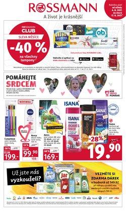 Zdraví a Kosmetika akce v Rossmann katalogu ( Zveřejněno včera)