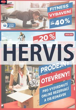 Hervis katalog ( Vypršelo )