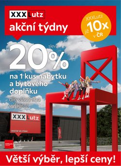 XXXLutz akce v XXXLutz katalogu ( Zbývá 2 dní)