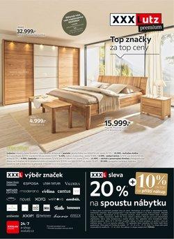 Bydlení a Nábytek akce v XXXLutz katalogu ( Vyprší zítra)