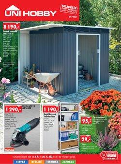 Bydlení a Nábytek akce v Uni Hobby katalogu ( Zbývá 3 dní)