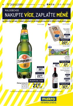Hyper-Supermarkety akce v Makro katalogu ( Zbývá 26 dní)