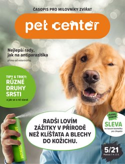 Hyper-Supermarkety akce v Pet Center katalogu ( Zbývá 2 dní )