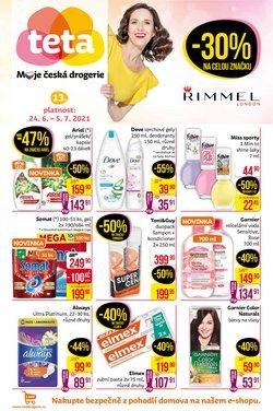 Zdraví a Kosmetika akce v Teta katalogu ( Zveřejněno včera)
