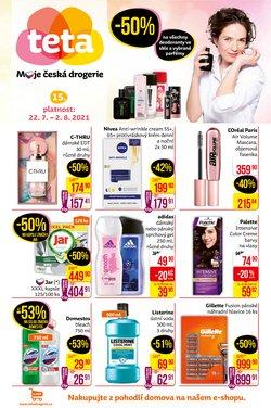 Zdraví a Kosmetika akce v Teta katalogu ( Vyprší zítra)