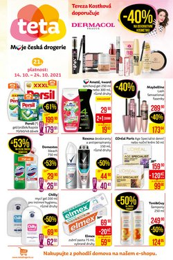 Zdraví a Kosmetika akce v Teta katalogu ( Zbývá 7 dní)