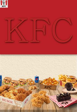 KFC katalog ( Vypršelo )
