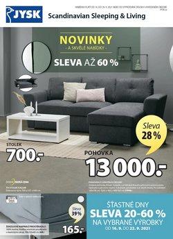 Bydlení a Nábytek akce v JYSK katalogu ( Zbývá 6 dní)