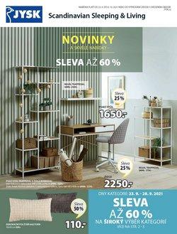 Bydlení a Nábytek akce v JYSK katalogu ( Zveřejněno dnes)