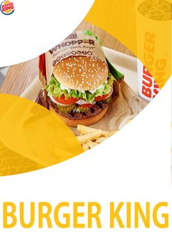 Burger King katalog ( Platnost vyprší dnes )