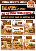 Restaurace akce v Burger King katalogu ( Zbývá 25 dní)