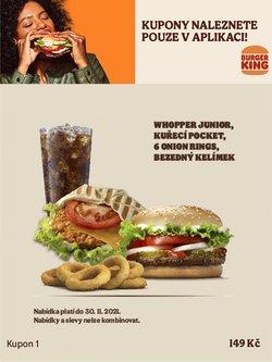 Burger King akce v Burger King katalogu ( Před více než měsícem)