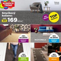 Bydlení a Nábytek akce v Koberce Trend katalogu ( Vyprší zítra)