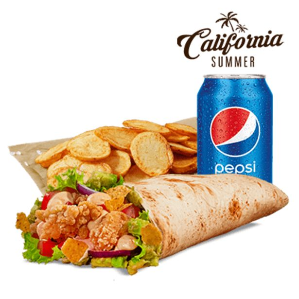 California Twister menu akce v 159Kč