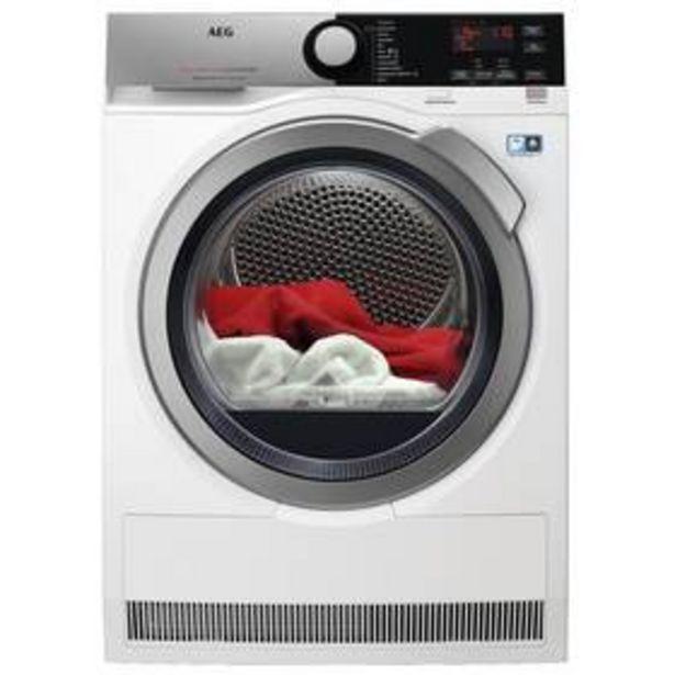Sušička prádla AEG AbsoluteCare® T8DEE48SC bílá akce v 16990Kč