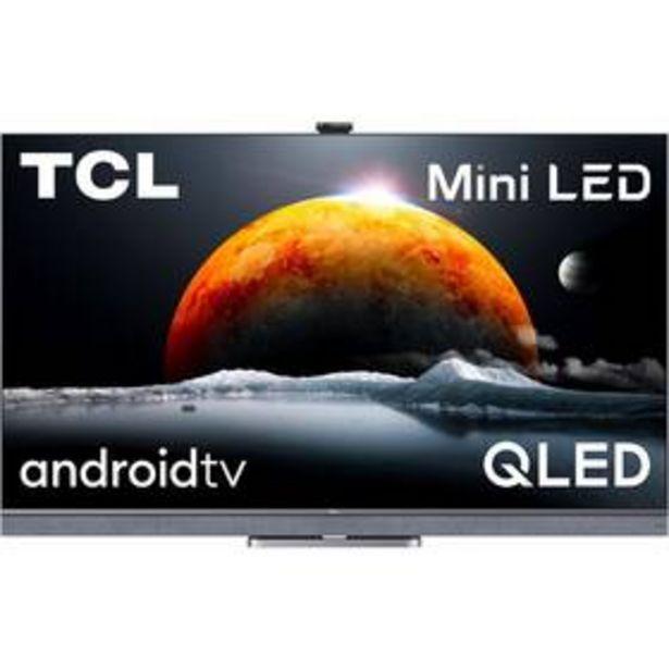 Televize TCL 65C825 stříbrná akce v 39990Kč
